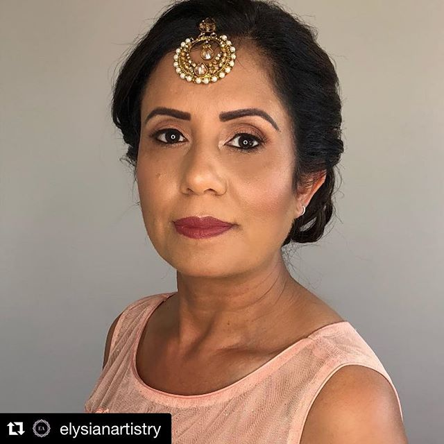 We love our girl Puneet! #Repost @elysianartistry with @get_repost ・・・ ✨I had the pleasure to doll up my beautiful aunt visiting from out of town this weekend! This look not only complimented her outfit but also brought out her inner glow! Thank you again for trusting me to do your hair and makeup! ✨ • • • • • • • • • #motd #hotd #yeg #yegmua #yycmua #yvrmua #yegger #hmua #bridalmakeup #undiscovered_muas #maccosmetics #urbandecay #vegas_nay #hudabeauty #yeghairstylist #instamakeup #yegbridal #bridalhair #wedding #gradmakeup #makeupjunkie #makeupartistworldwide