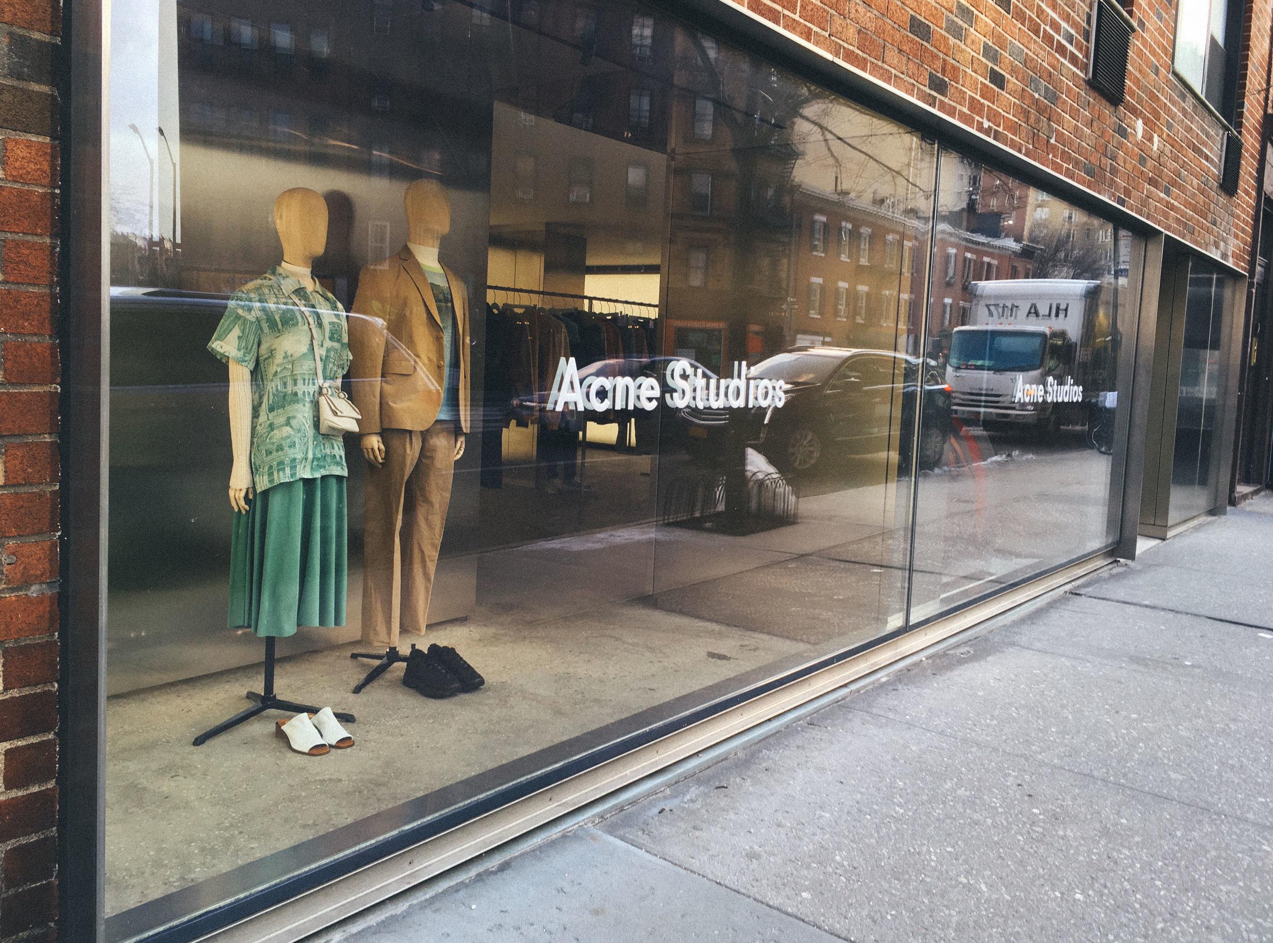 Acne Studio New York