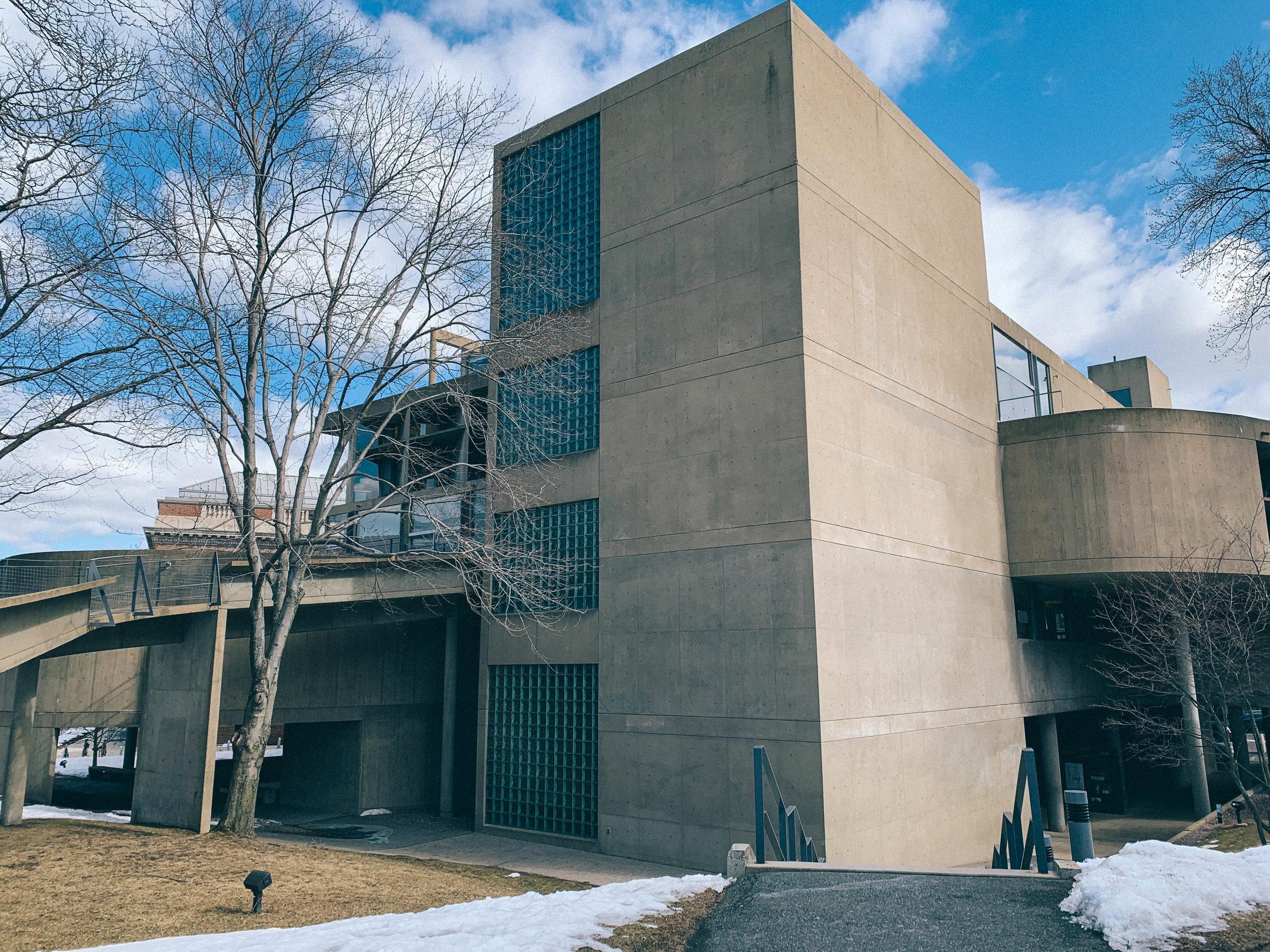 Architecture tour harvard