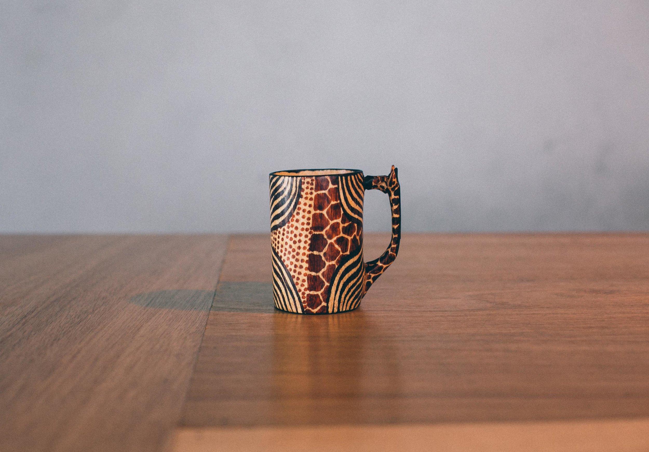 Mar's giraffe cup