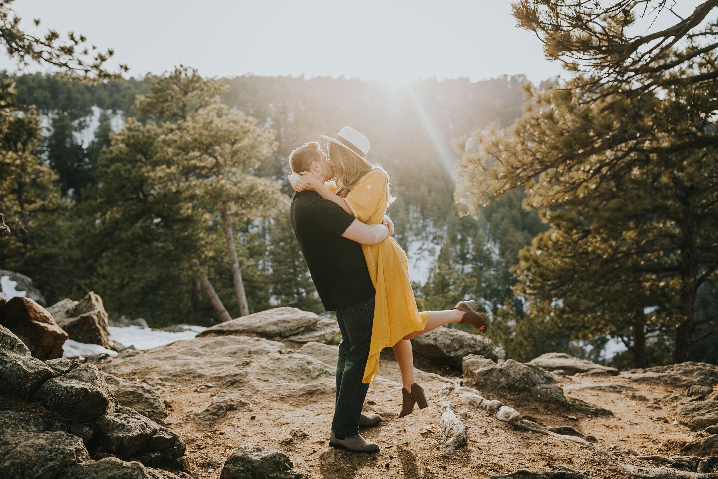Lookout Mountain Park Denver Colorado Engagement Session Colorado Wedding Photographer-99.jpg