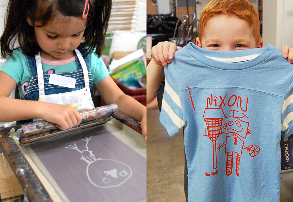 Kids T-Shirt Workshop - March 17, 20181:00 PM - 3:30 PMCost:$25 (fabric not included)Ink Lounge29 South Fox St., Denver, CO 80223