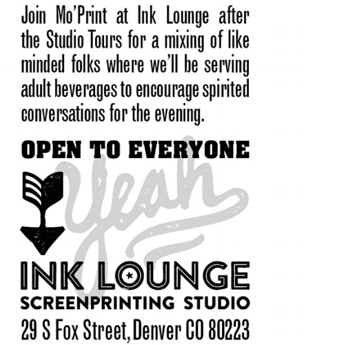 Ink Mixer - Saturday, March 24, 20185:00 PM - 8:00 PMInk Lounge29 Fox St., Denver, CO 80223