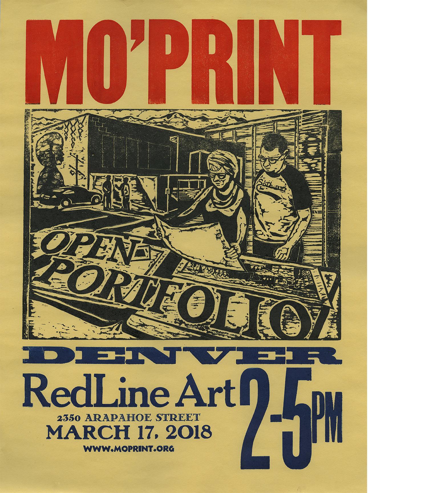 Open Portfolio - Saturday, March 172:00 PM - 5:00 PMFree to attendRedLine2350 Arapahoe St, Denver, CO 80205