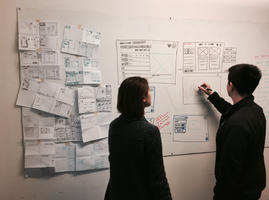 Design Studio: Converging after the design critique to storyboard out promising ideas