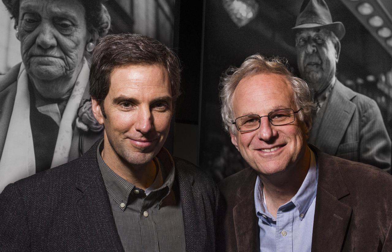 Michael Williams (L) Richard Cahan (R)
