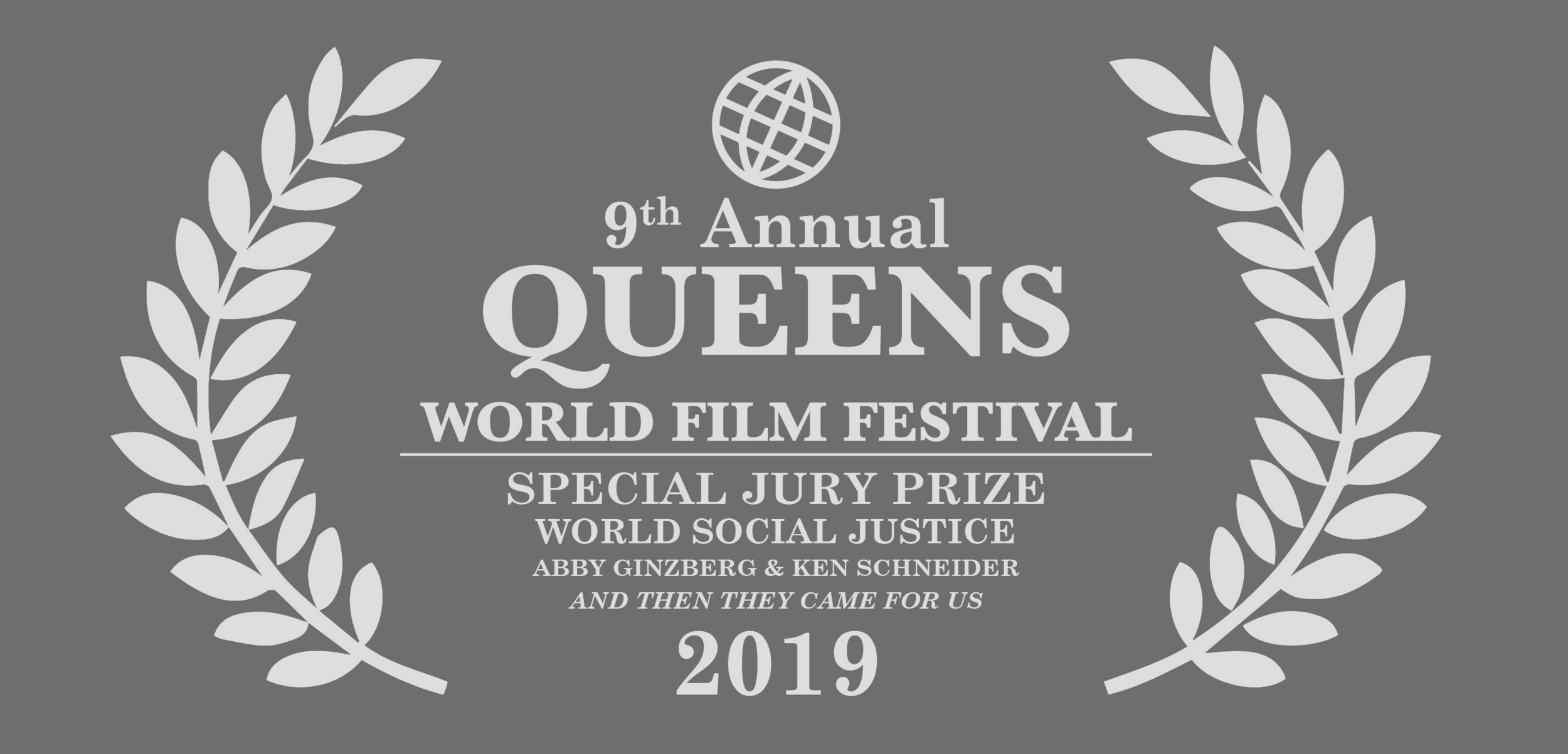 Winner of the World Social Justice Jury Prize from Queens World Film Festival - Click here for more info