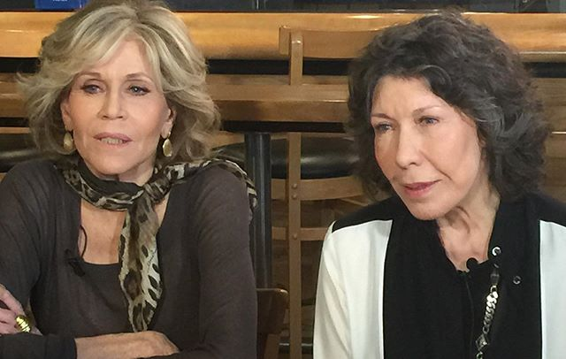 "Legendary actresses, Jane Fonda and Lily Tomlin, are just two of the women advocating for a higher wage for restaurant workers nationwide. As part of the cast of Waging Change, they are strengthening the voices of the #1FairWage movement. @janefonda #lilytomlin @onefairwage @roc_united #wagingchange #1fairwage #janefonda ""...one of the things that, that we have to learn is how everything is interconnected.  War, climate change, environmental degradation, and sexism, these things are all combined.  If we can't be a nation of people who in our hearts believe that to be a healthy nation, every person who can work needs to earn enough money to support themselves and be treated with dignity, and let's just start there."" - Jane Fonda ""I feel great to be a part of this campaign... everything you do to work for other people in the world, to make their lives a little fuller, a little easier, a little more secure, it's meaningful..."" - Lily Tomlin,"