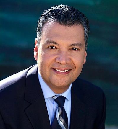 Secretary of State of California, Alex Padilla