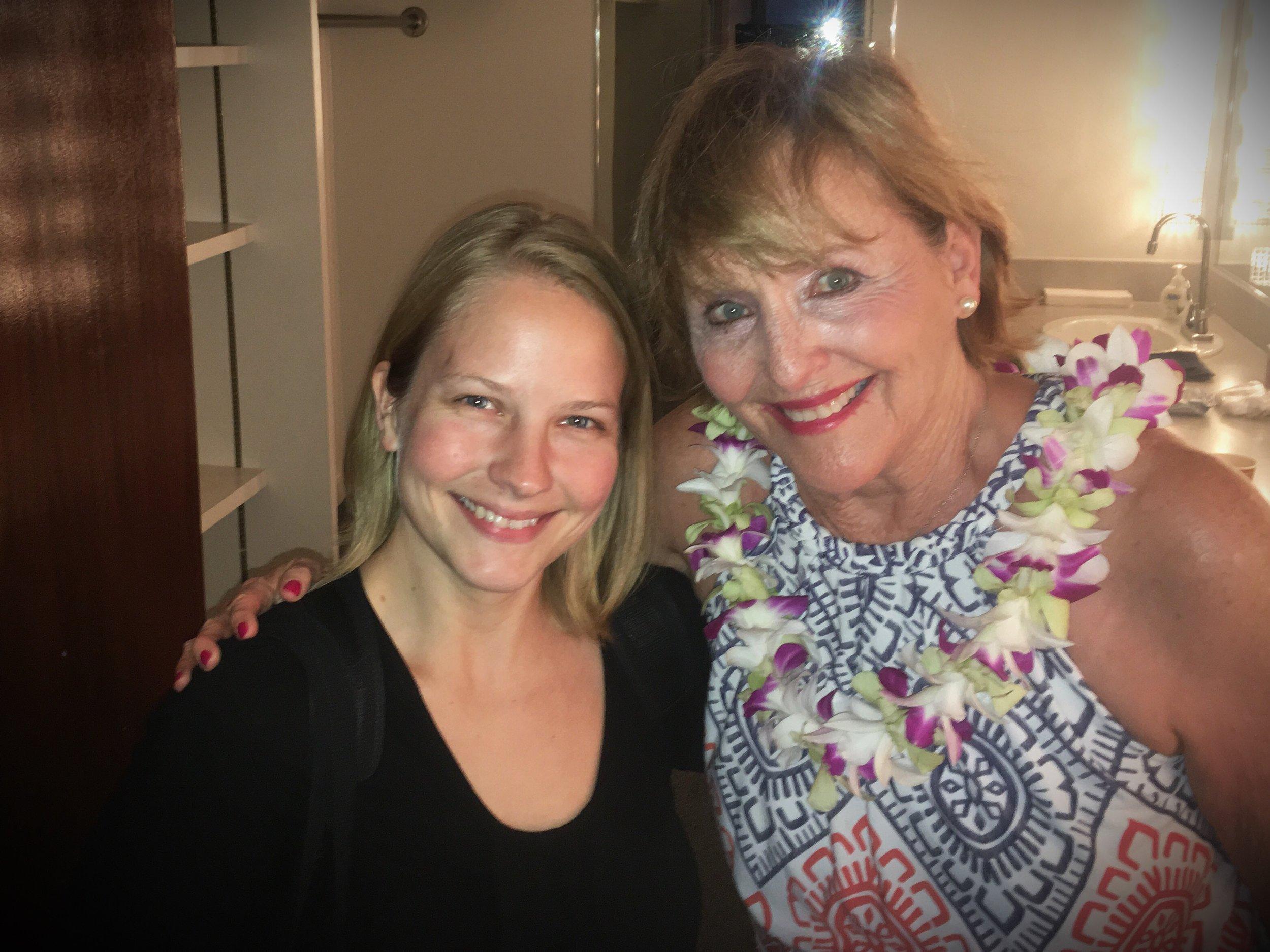 with Frederica von Stade