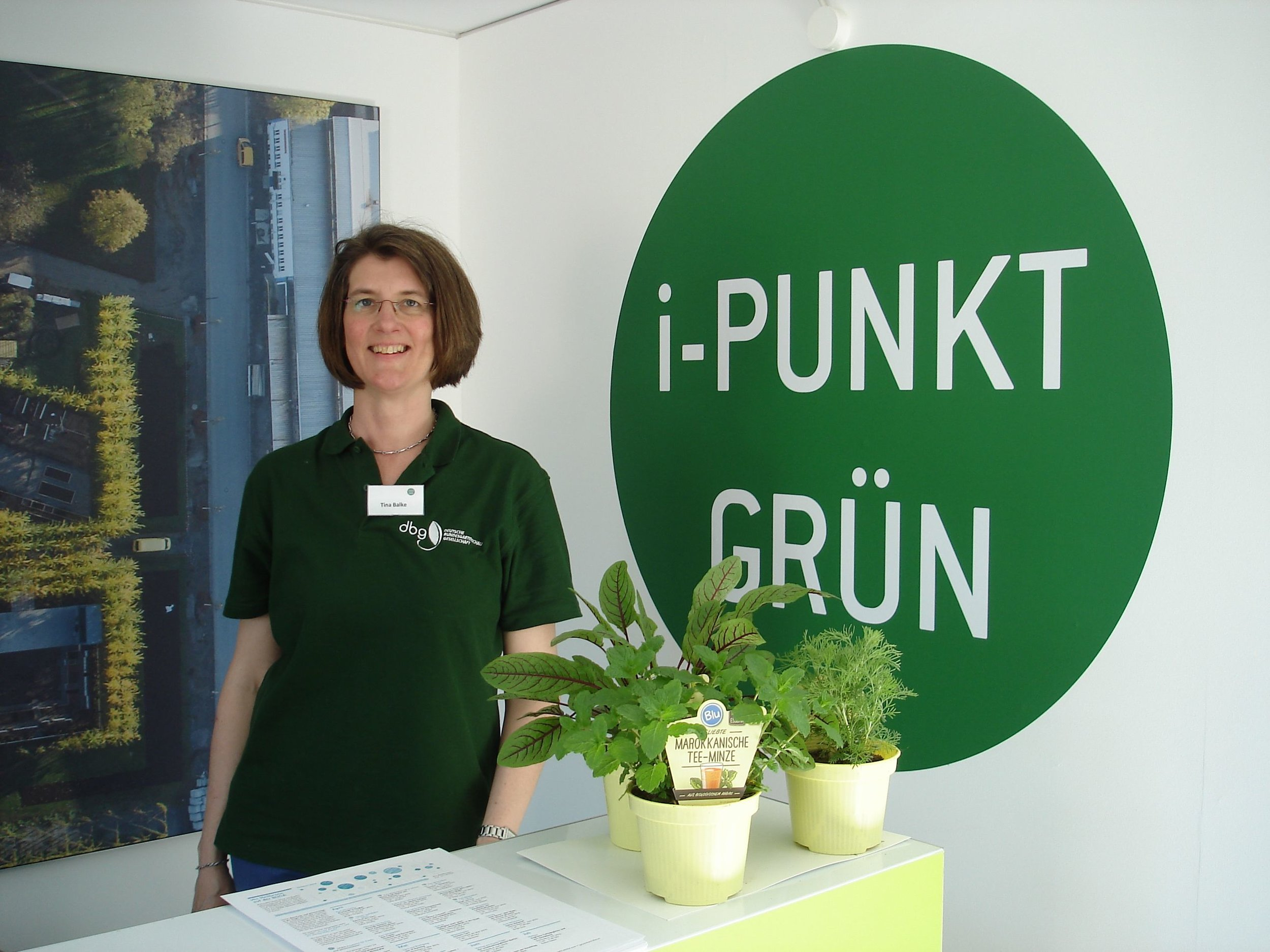 Die Pflanzenärztin im i-PUNKT Grün auf der Buga 2019 in Heilbronn