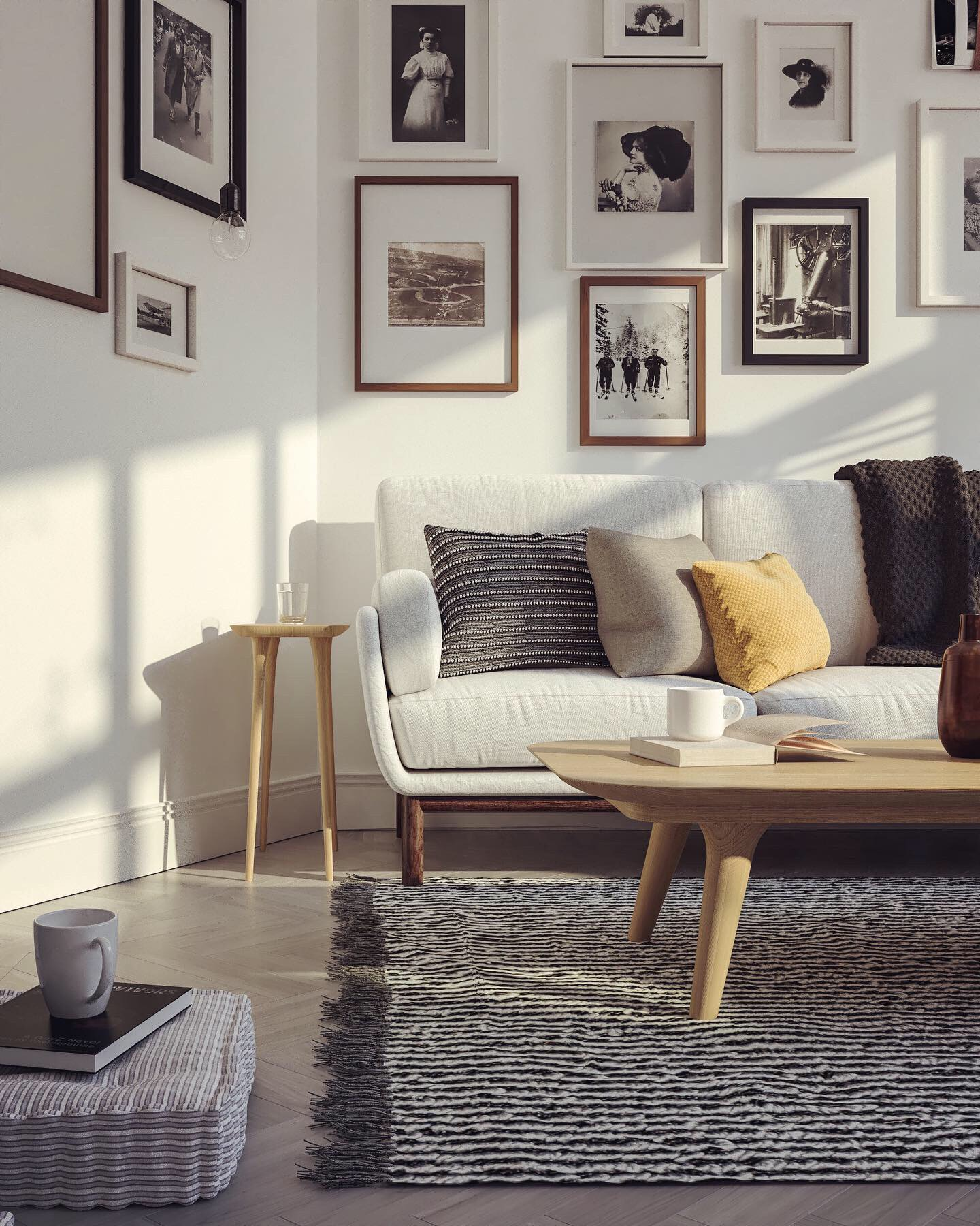 3dsmax and V-Ray Next Gpu, sofa modeled by © Pasquale Scionti