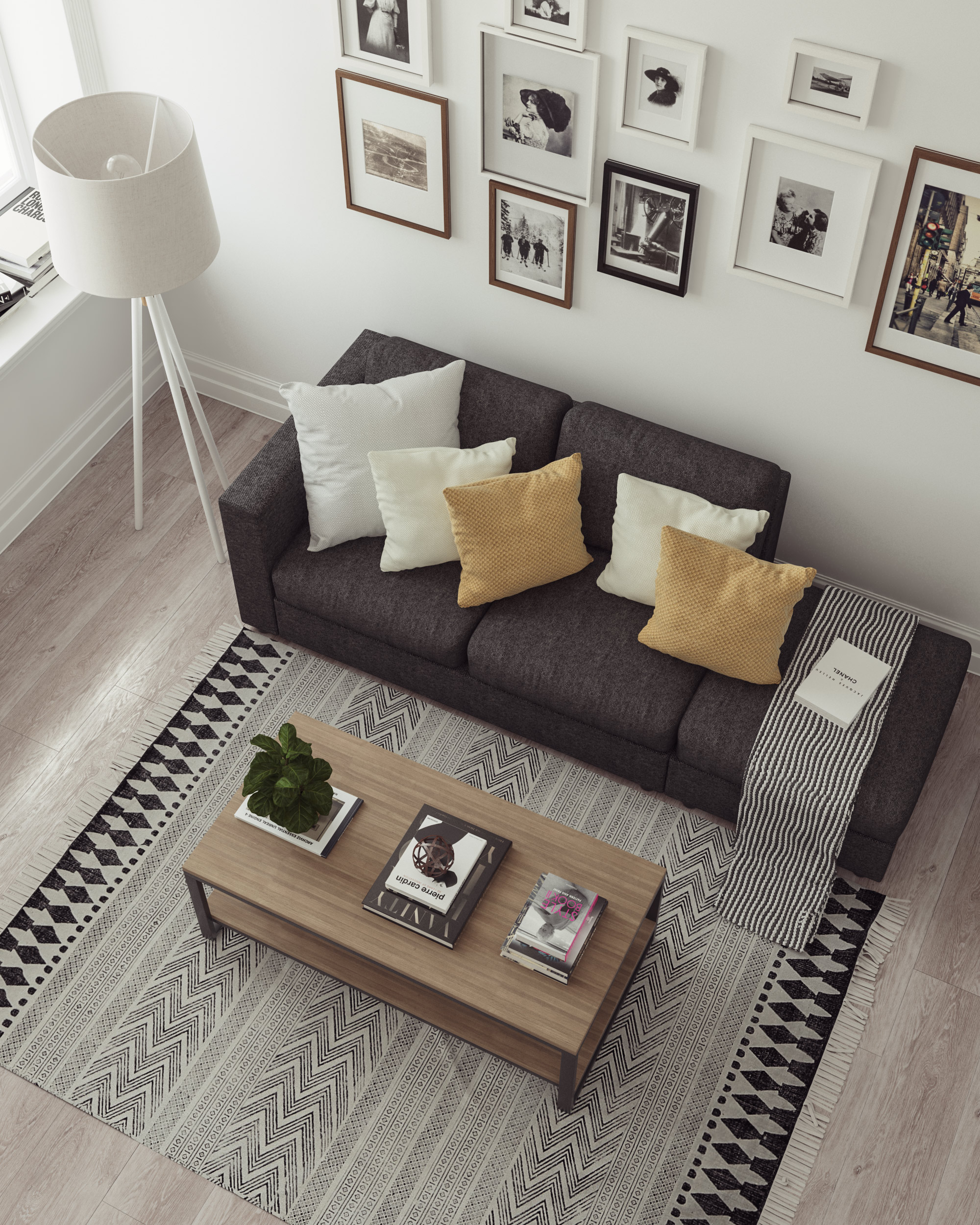 3dsmax and V-Ray, sofa modeled by © Pasquale Scionti