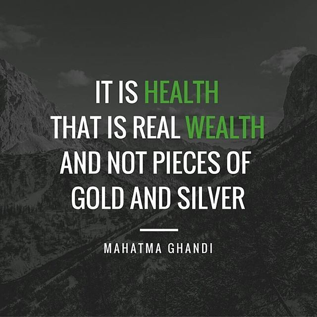 Let's focus on the wellbeing of the world! Photo: theglobalgoals #worldhealth #ghandi