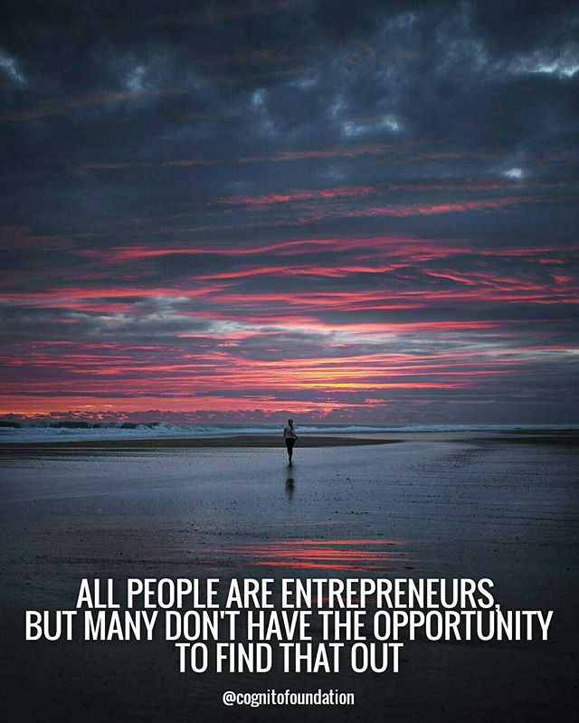 Let's create more opportunities. Photo: julian_pircher #yunus #microfinance #entrepreneur
