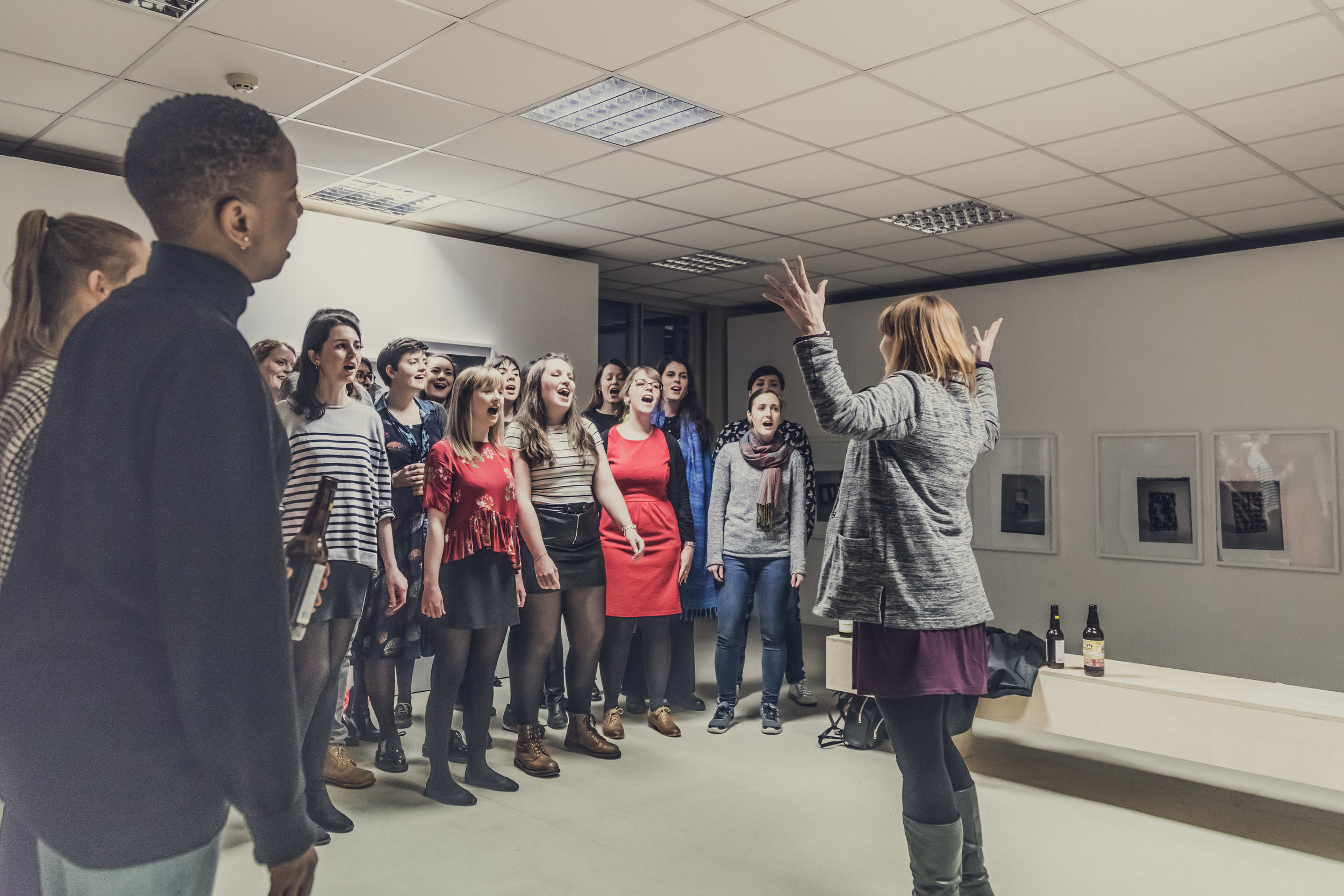 SHE CHOIR - Wednesdays at 5.30-8pmIf you can sing in the shower, you can sing in a choir!