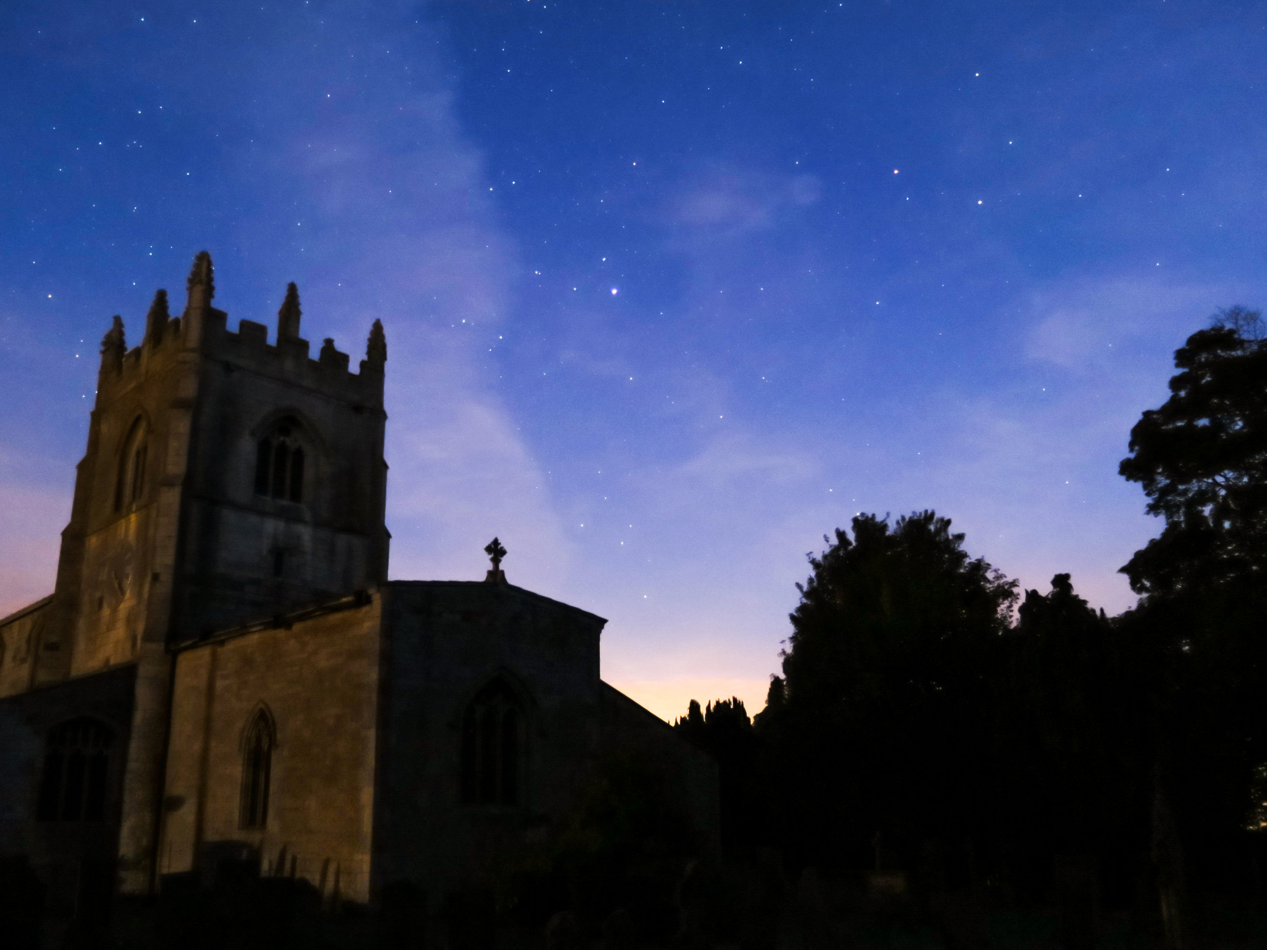 A church near Melton Mowbray in Leicestershire where LSC undertook a building inspection and dusk/dawn emergence and re-entry surveys for roosting bats to support a planning application for essential roof repair works.