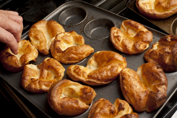 yorkshire puddings made with rapeseed oil