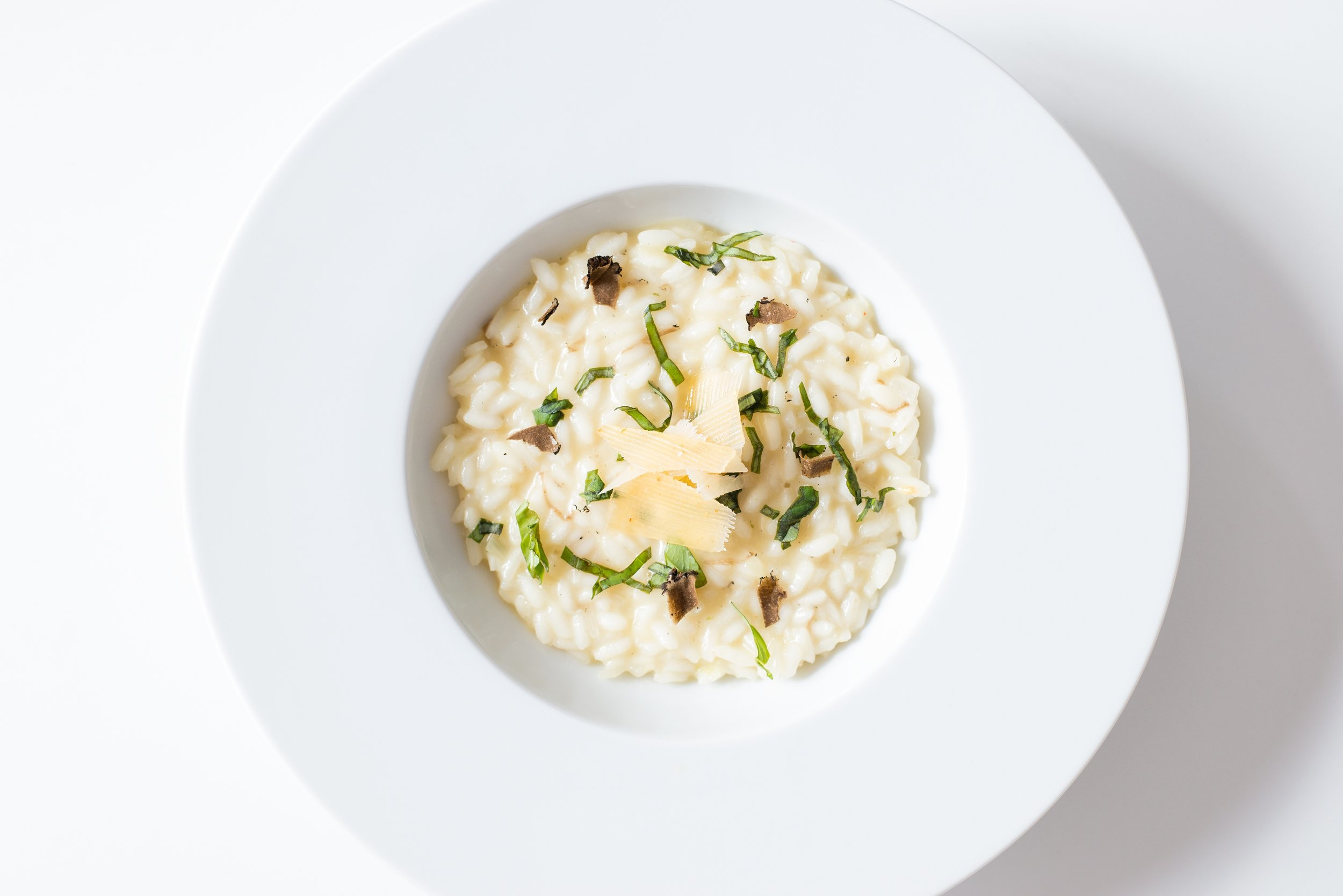 Mushroom risotto recipe made with rapeseed oil