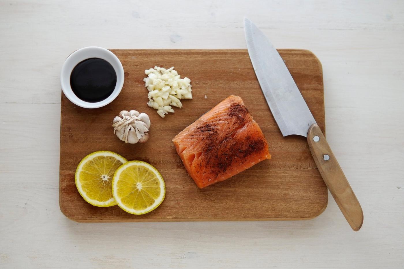 spring salmon recipe