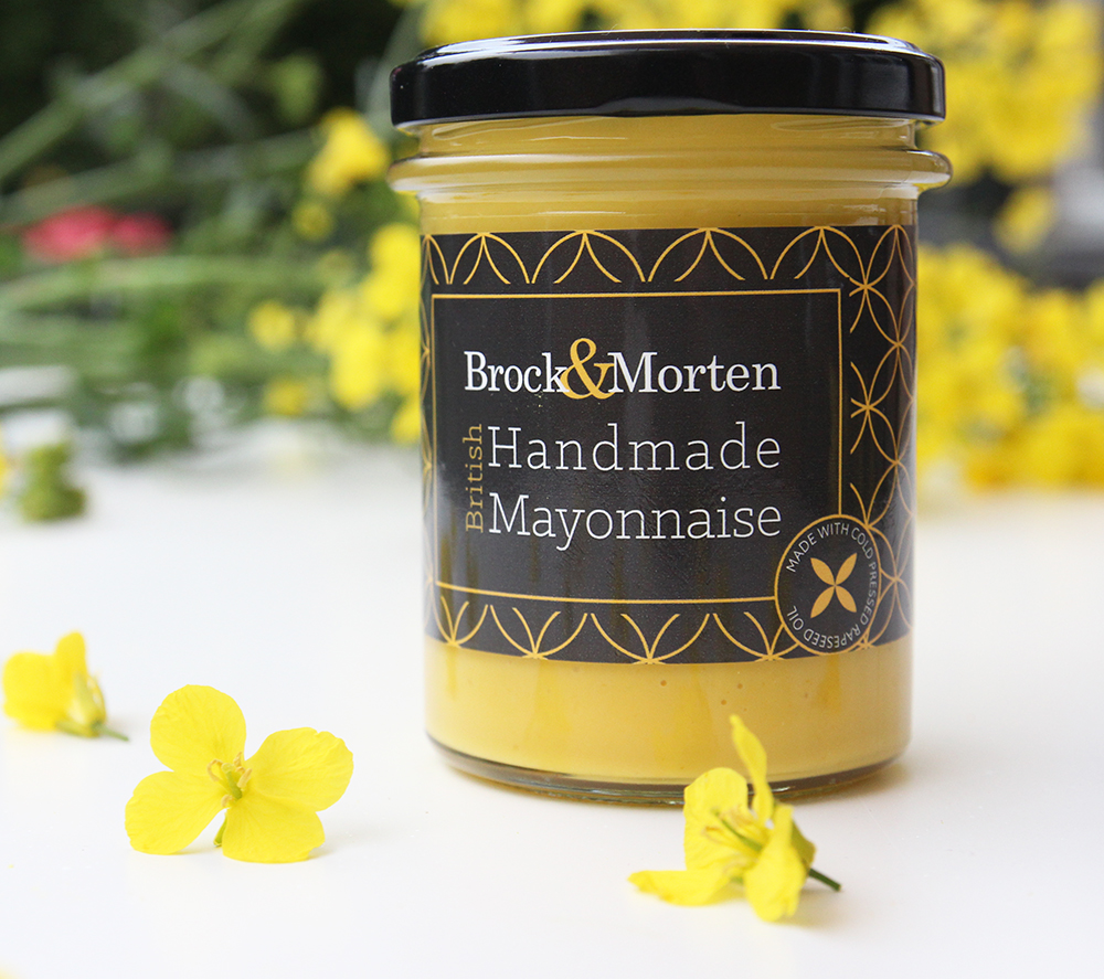 mayonnaise made with rapeseed oil