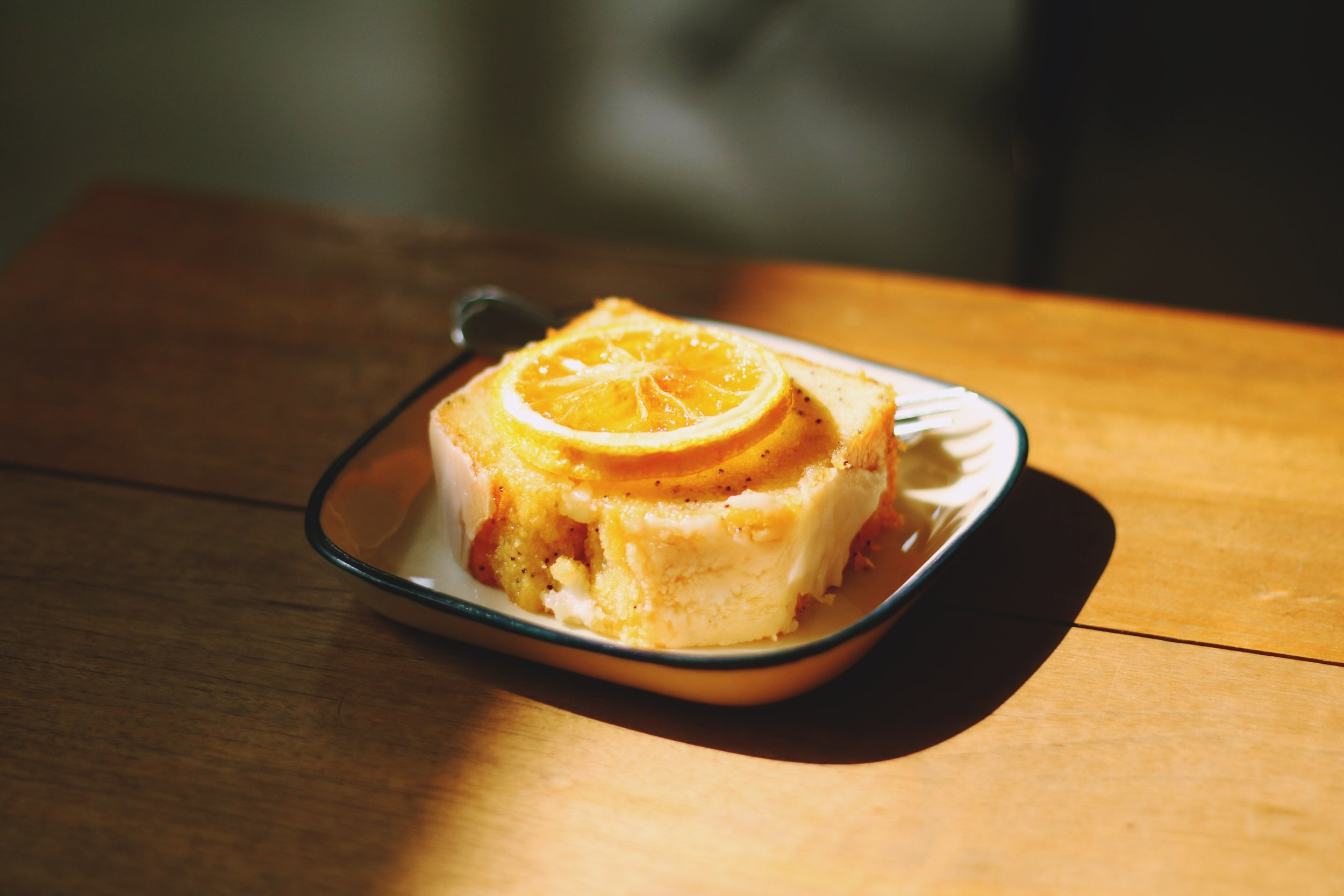 orange and rapeseed oil cake