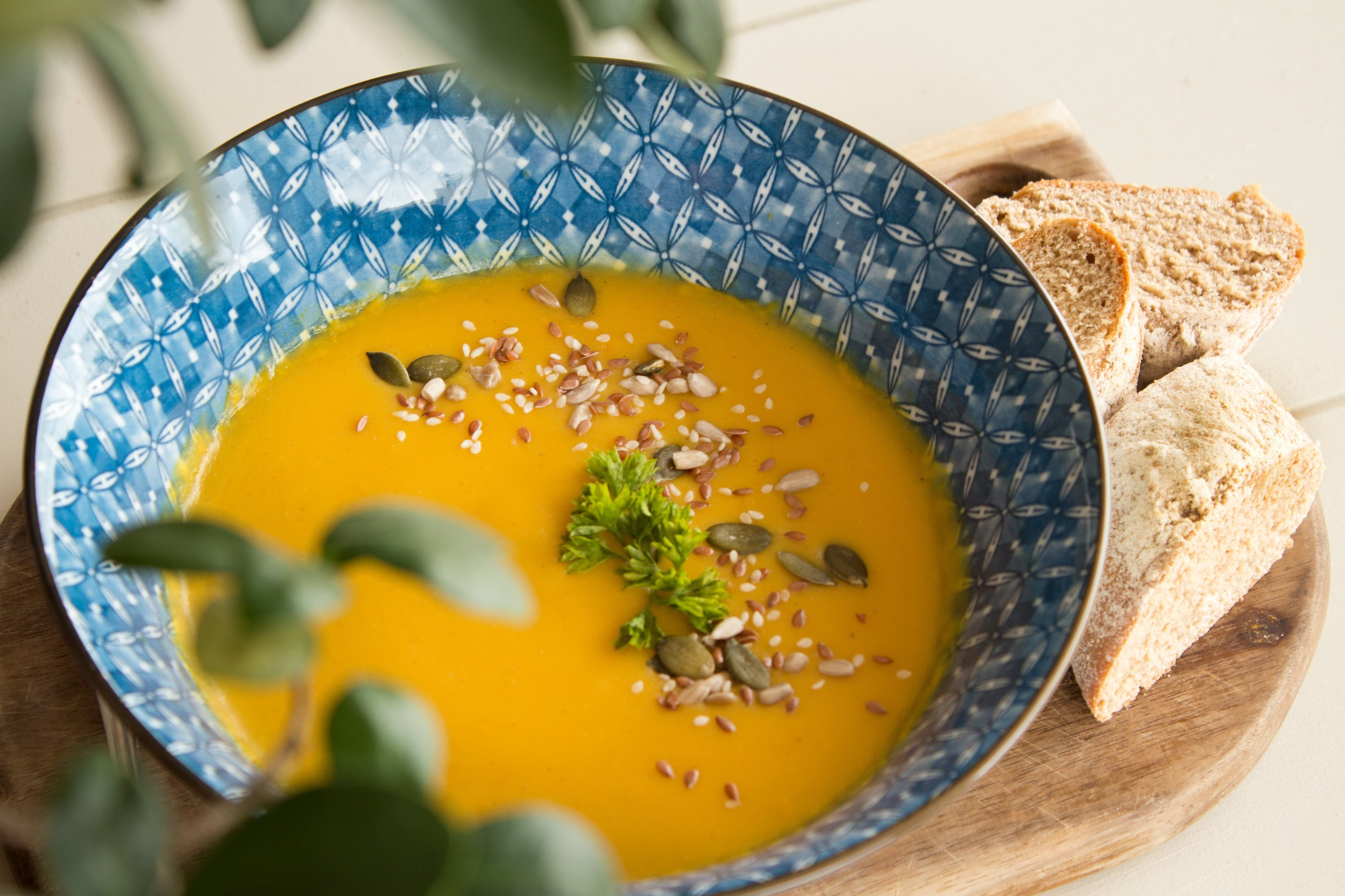 carrot and butternut squash soup recipe