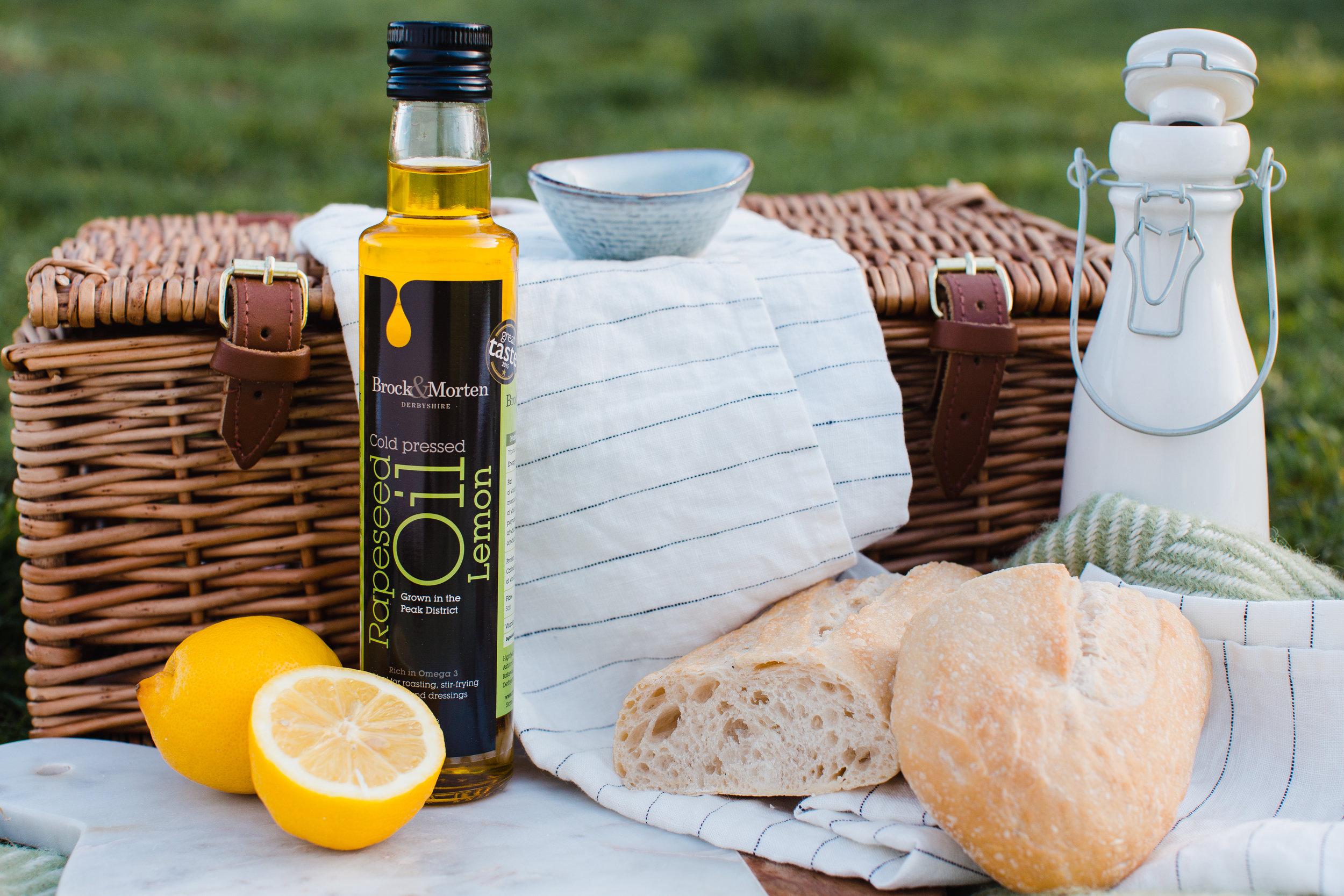 lemon flavoured rapeseed oil