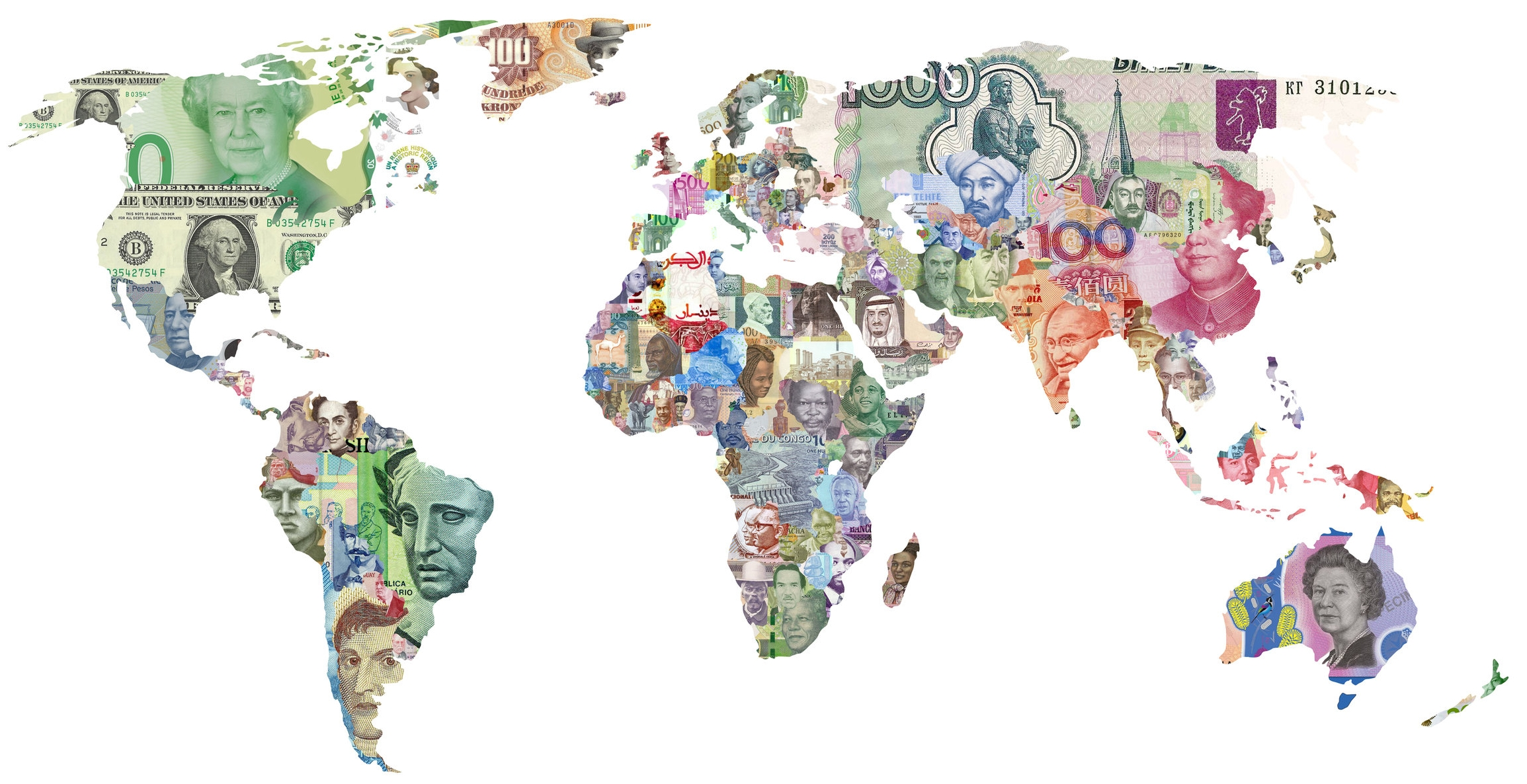 A world of fluctating currencies