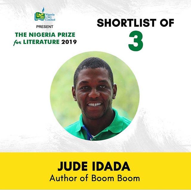 """Our #MCM is @judeidada We are really pleased that his children's book """"Boom, Boom"""" has made the shortlist for in this years Nigeria Prize for Literature an initiative of @nigerialng The winning entry will be announced in October.  Congratulations Jude!  #literature #literatureprize #chidrensbook #reading #bookstagram"""