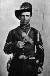 Sgt. Henry Wise, Co. C, 1862