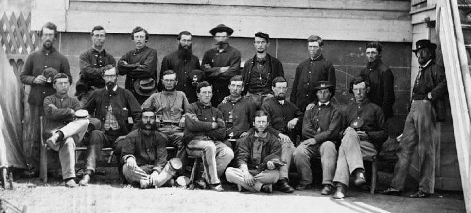 U.S. Engineer detachment, April 1865