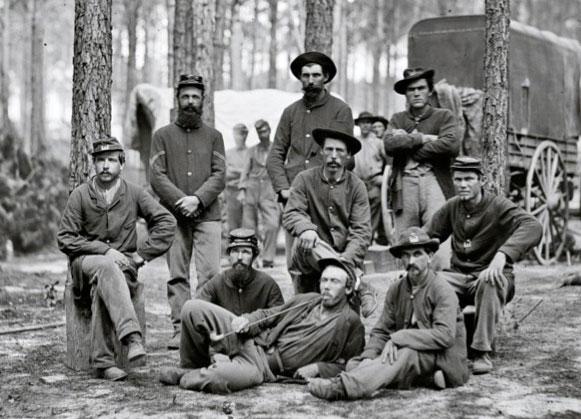 Company B, U.S. Engineer Battalion near Petersburg, Va.