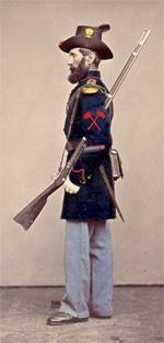 Figure 7 : Federal Heavy Artillery Pioneer – 1866.