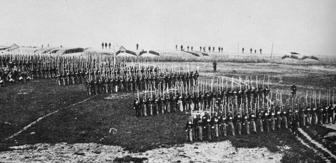 26th New York at Fort Lyon, Va.