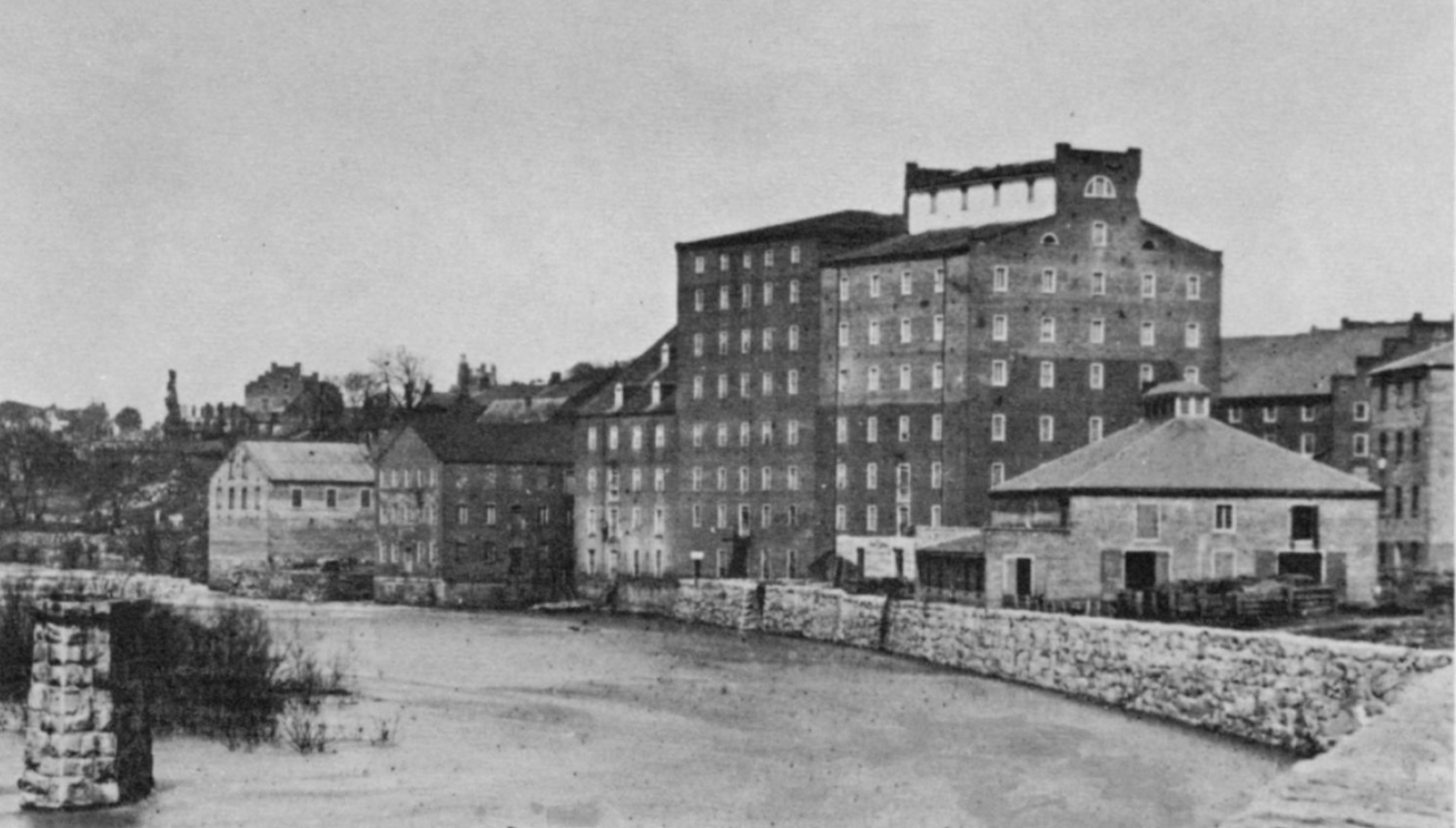 Haxall Mills in 1865. (26)