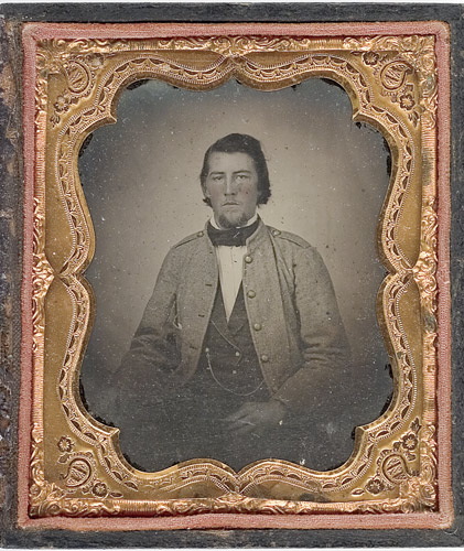 Figure 1 - Picture of Lt. Calvin N Porter 45th VA Infantry, date unknown