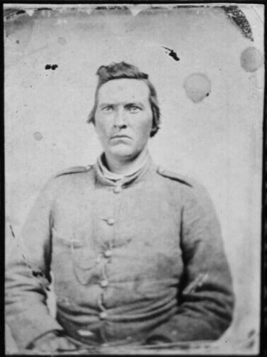 Figure 2 - Picture of Riley Reedy 63rd VA Infantry, date unknown