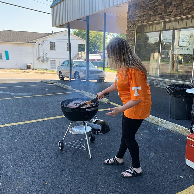 Come on by the store today! We are grill out for customers and have some fall specials in the store. #gunnysfirearms #grillingatgunnys #smokinhotdeals