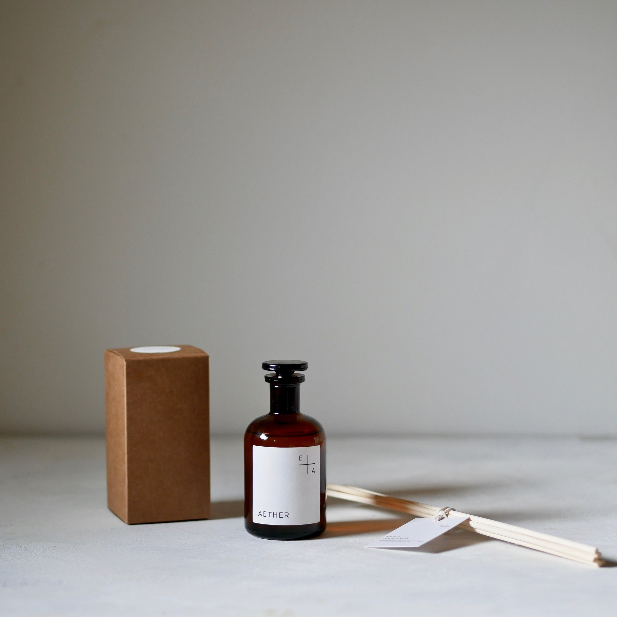 Organic Reed Diffusers - Natural aromatherapy scent gently diffused into the air to help relax, restore and re-energise. Pure essential oils infused into an organic base, diffusers are non-toxic, long lasting and 100% natural.