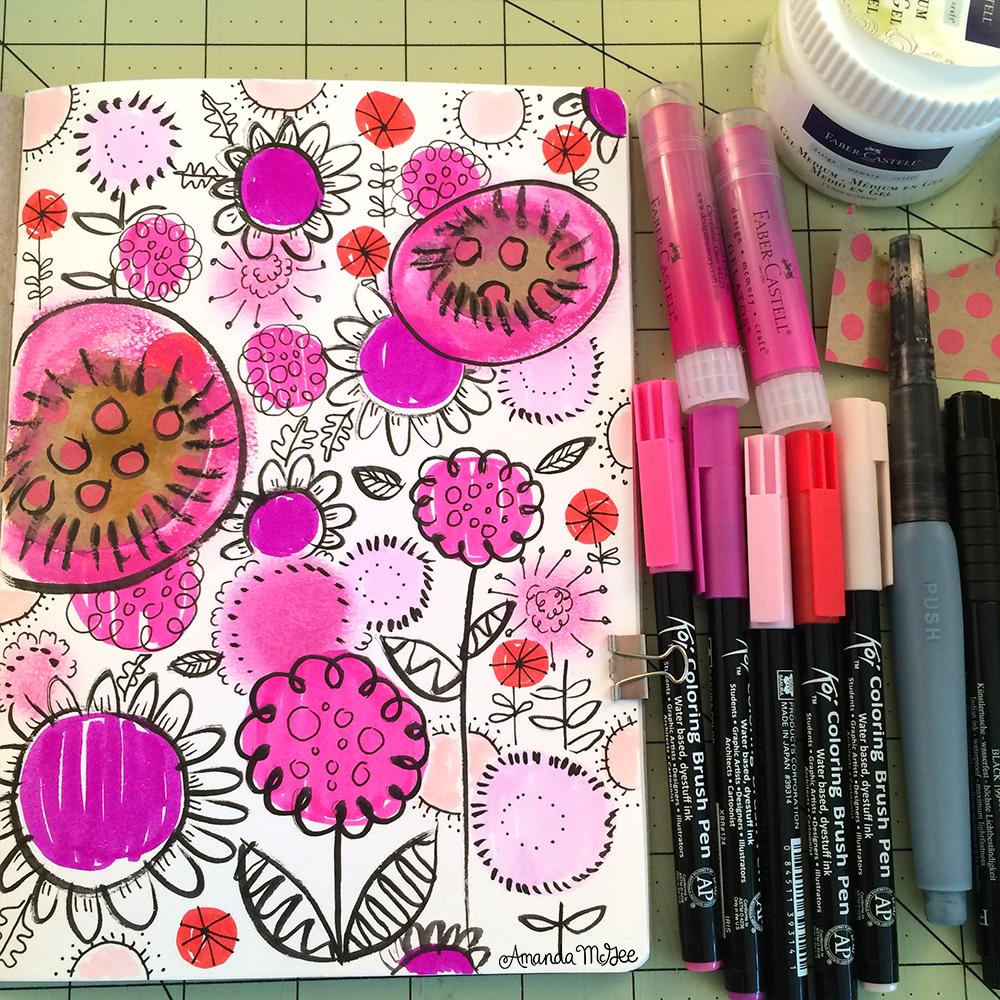 AmandaMcGee_Sketchbook_PinkMarkerFloral.jpg