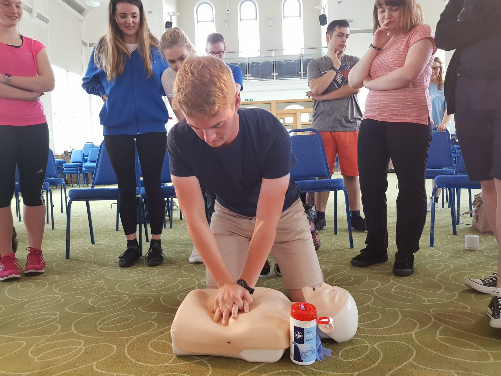 Our first aid session covers some vital information