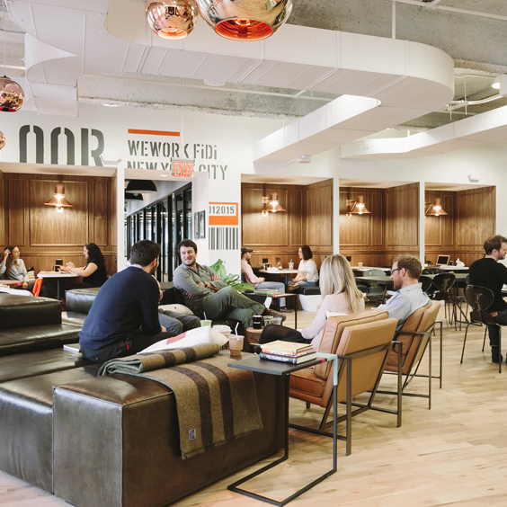energy filled space at wework