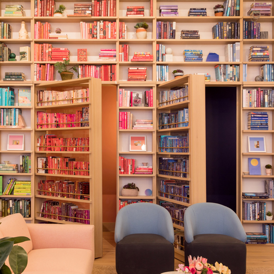 wow library at the wing co-working space