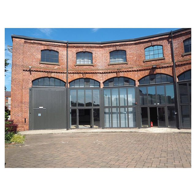 *NEW PROJECT ALERT* We will be designing the new interior of this super awesome historic piece of architecture that sits just off the Leeds-Liverpool canal. .................... The building used to be a heavy engineering repair shed for train maintenance. ......................... We will be transforming this space in to a unique creative workspace and training facility for @weare_ive . They are a creative enterprise that are working towards building a creative nation! Yes guys more of that please. This project is shaping up to be mega already!