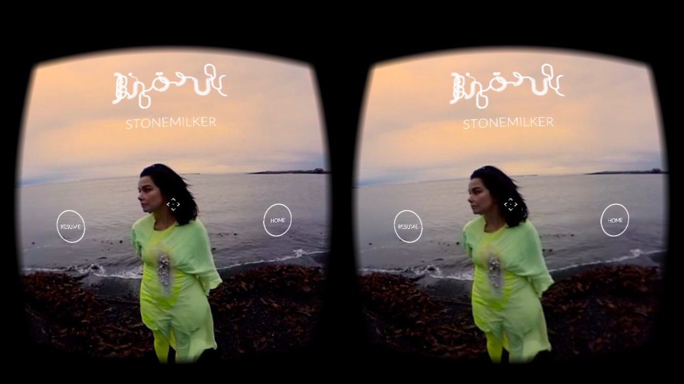Bjork - Stonemilker at MOMA PS1 and App Stores
