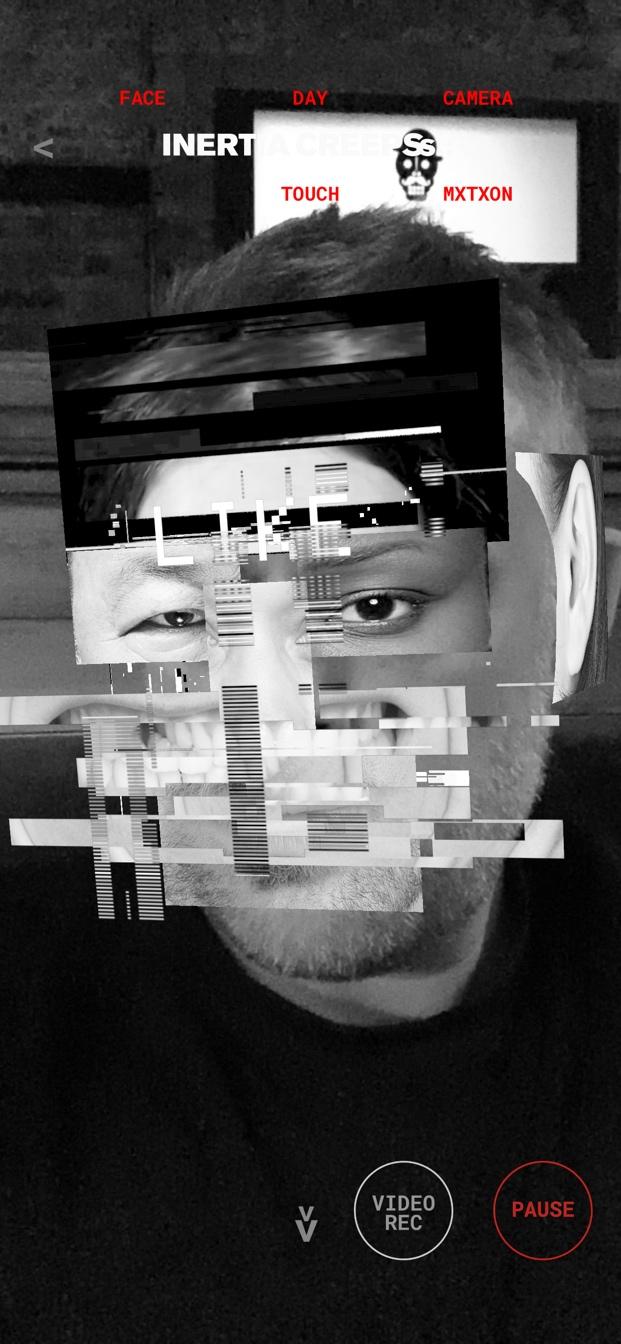 AR Mode Inertia Creeps using iPhone X camera