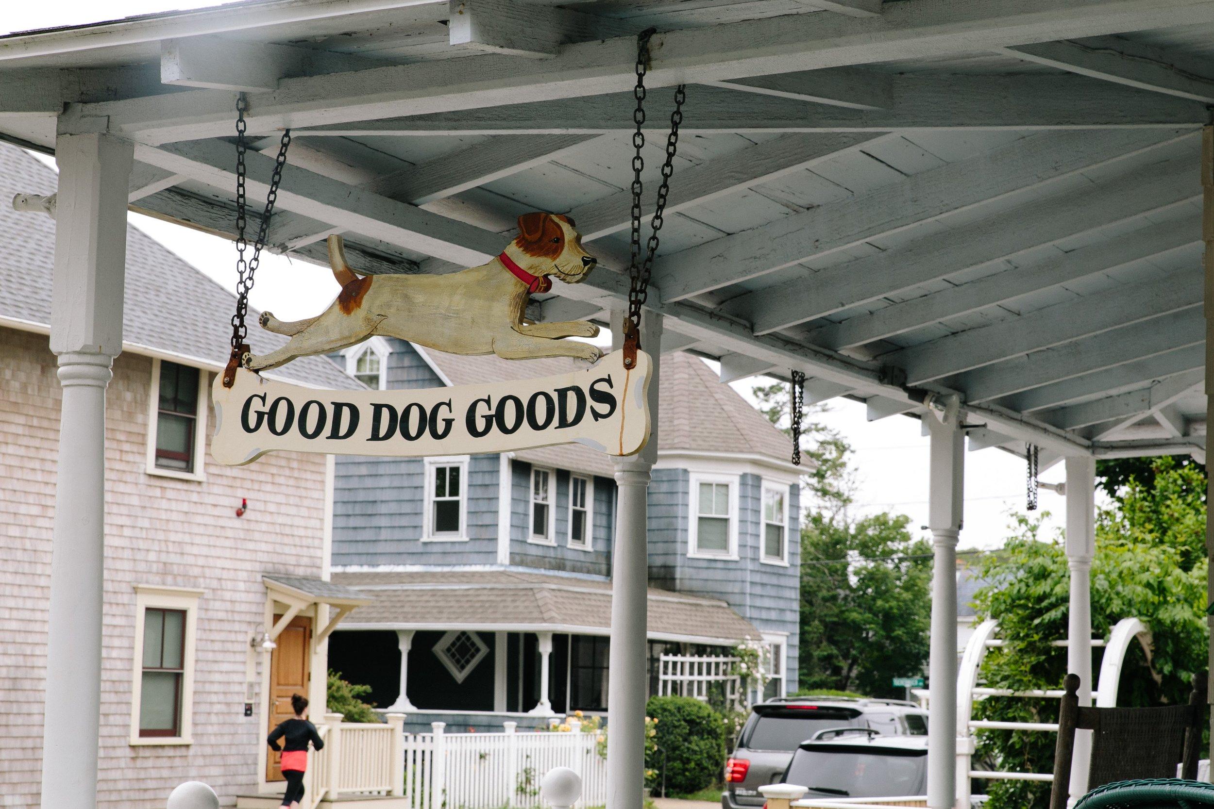 Good Dog Goods in Oak Bluffs