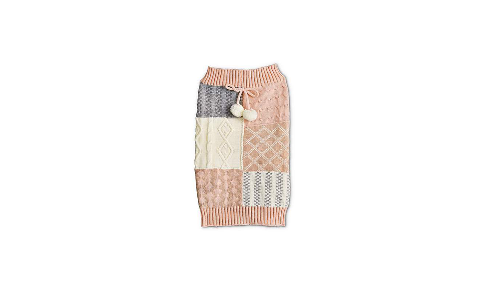 Bond & Co. Pink and Grey Mixed Sweater