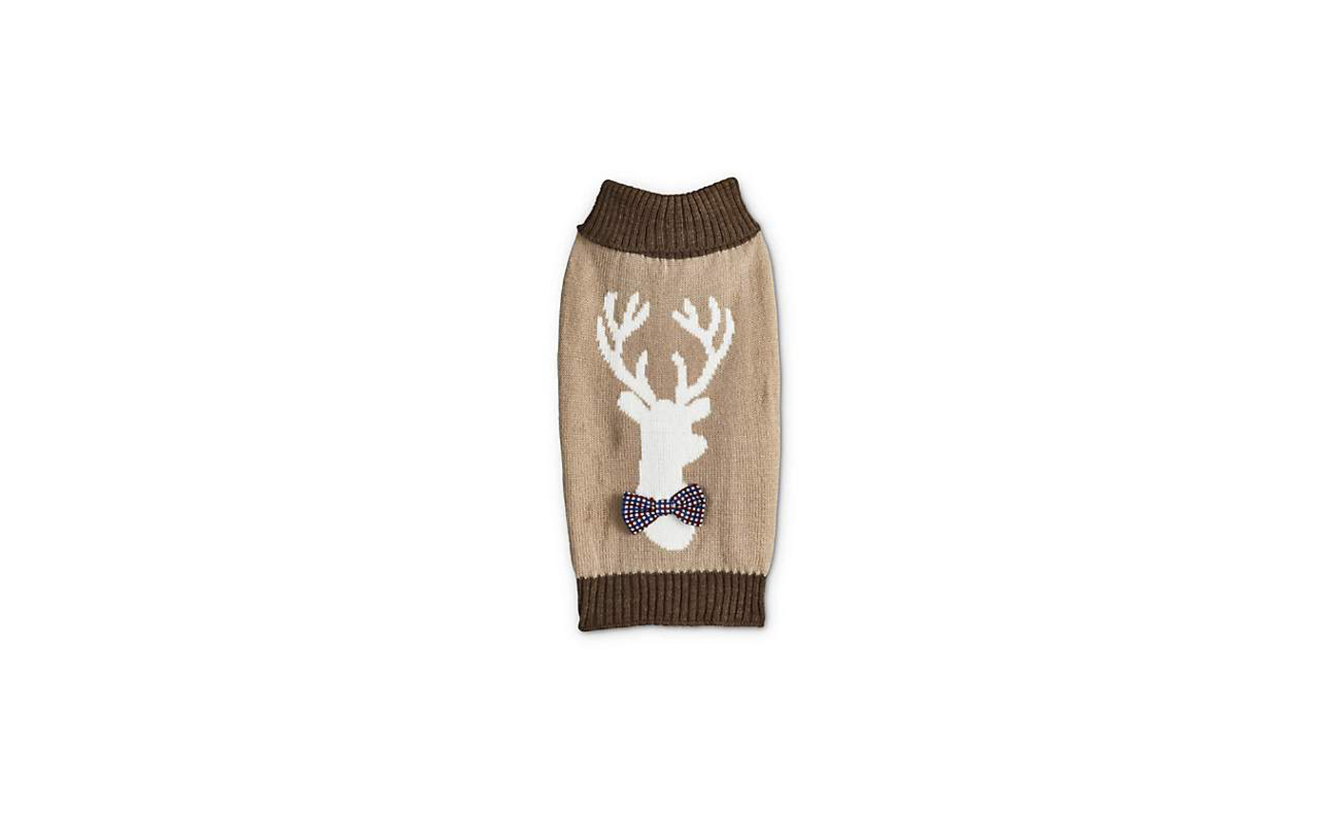 Bond & Co. Oatmeal Reindeer Sweater